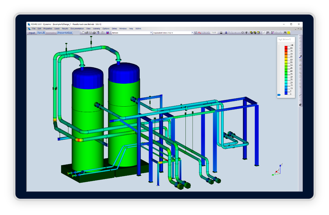 rohr2-software-pipe-dynamic-analysis
